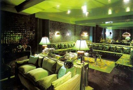 Wonderful green interior design ideas