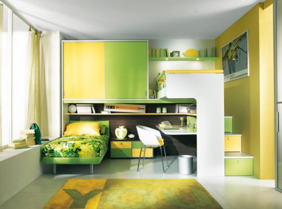 31 Colorful and Playful Design Ideas for Kids' Bedroom