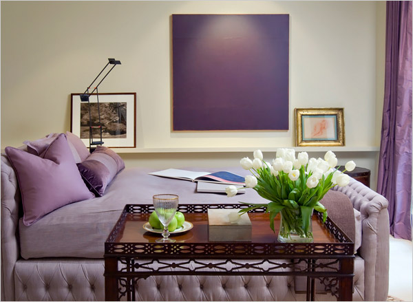 35 Light and Cozy Purple Interior Design Ideas